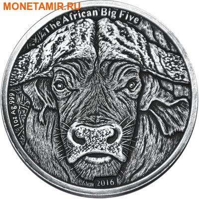 Буркина Фасо 1000 франков 2014.Буйвол.Арт.60 (фото)