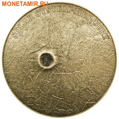 Ниуэ 1 доллар 2016.Метеорит Меркурий II.Солнечная система NWA 7325/8409.Арт.60 (фото)