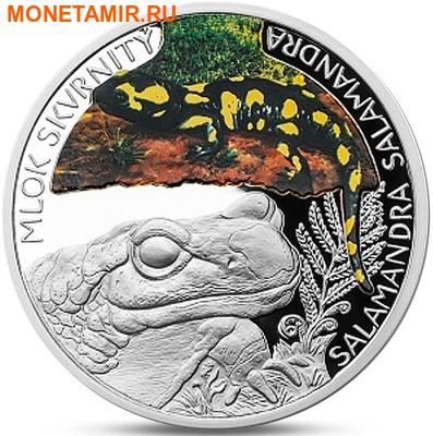 Ниуэ 1 доллар 2015.Саламандра – Под угрозой исчезновения (Буклет).Арт.60 (фото)