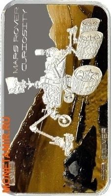 Того 1000 франков 2014.Метеорит Tиссинт (Tissint) – Марсоход (Mars Rover).Арт.60 (фото)
