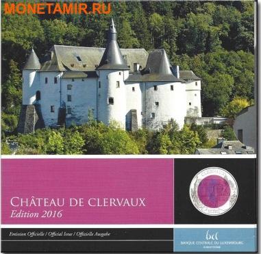 Люксембург 5 евро 2016 Замок Клевро Замки Люксембурга Ниобий (Luxemburg 5 Euro 2016 Castle Clervaux Niob).Арт.000557852877/60