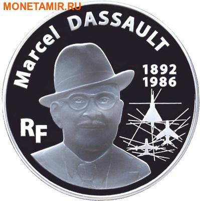 Франция 100 евро 2010.Марсель Дассо (Marcel Dassault) - Самолет Мираж III.Арт.002225633191/60 (фото)
