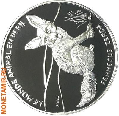 Бенин 1000 франков 2004.Лиса.Арт.60 (фото)
