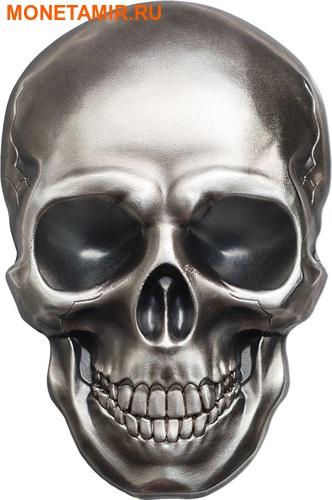 Палау 5 долларов 2016 Череп (Palau 5$ 2016 Skull 1 oz Silver Coin).Арт.60 (фото)