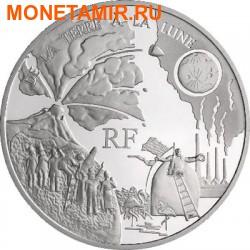 Франция 1,5 евро 2005.Жуль Верн - С Земли на Луну (De la Terre a la Lune).Арт.60 (фото)