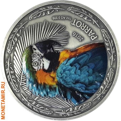 Буркина Фасо 1000 франков 2016.Попугай (Parrot).Арт.60 (фото)