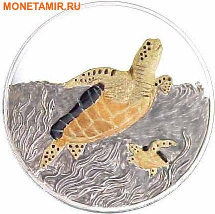 Теркс и Кайкос Острова 20 крон 1999.Черепаха – Живая природа.Арт.60
