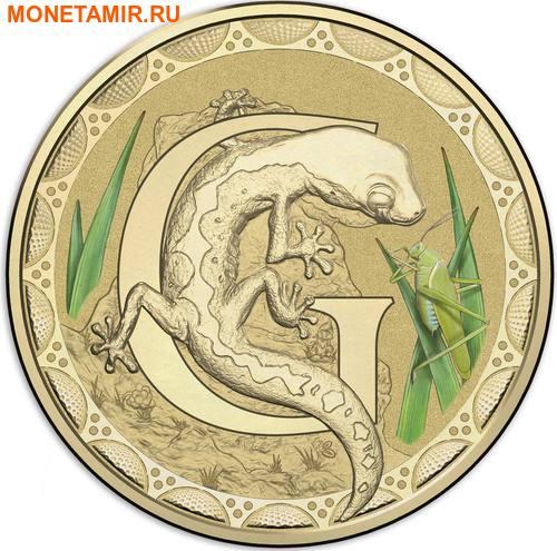 Австралия 1 доллар 2017.Алфавит – G – Ящерица (Блистер).Арт.000086253548/60 (фото)