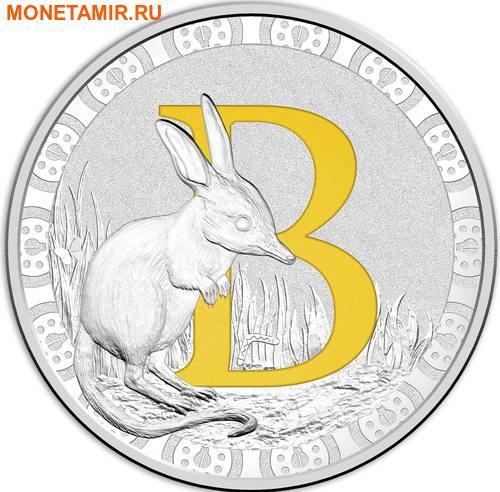 Австралия 1 доллар 2017.Алфавит – B – Билби.Арт.000272953515/60 (фото)