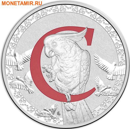 Австралия 1 доллар 2017.Алфавит – C – Попугай.Арт.000272953516/60 (фото)
