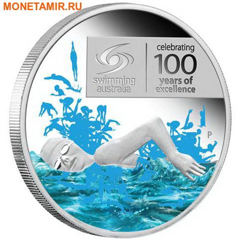 Австралия 1 доллар 2009.Плавание.Арт.60 (фото)