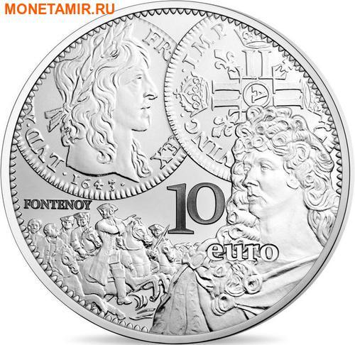 Франция 10 евро 2017.Луидор (Монеты на монетах).Арт.60 (фото)