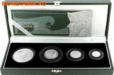 Великобритания 3,7 фунта 2003 Британия (Набор 4 монеты).Арт.001350040472/60 (фото)