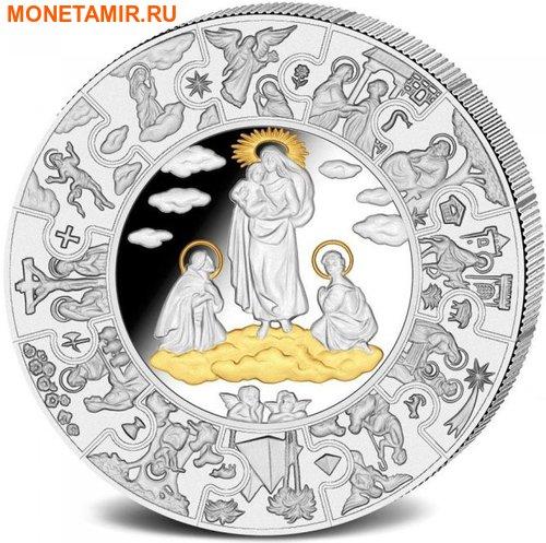 Либерия 100 долларов 2010 Пресвятая Дева Мария (Пазл, Килограмм).Арт.004400053878/60 (фото)