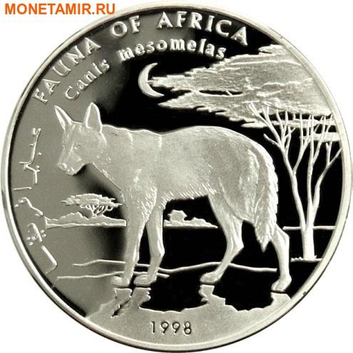 Сомали 10000 шиллингов 1998 Шакал (Canis mesomelas) Фауна Африки.Арт.60 (фото)
