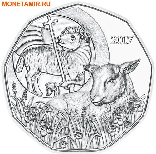 Австрия 5 евро 2017 Пасхальный Ягненок (Буклет).Арт.000095853929/60 (фото)