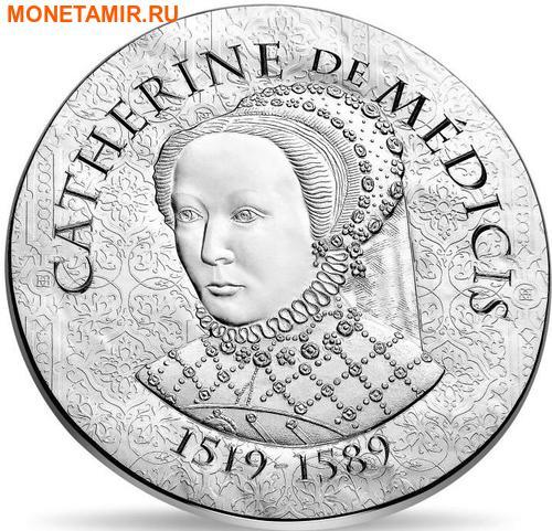 Франция 10 евро 2017 Королева Екатерина Медичи серия Женщины Франции.Арт.000217353956/60