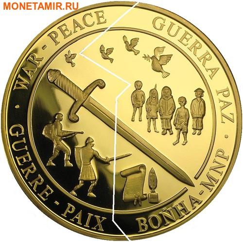 Кирибати 500 долларов Самоа 500 долларов 2000 Война и Мир (Пазл).Арт.54271/11700E/K9G1300E (фото)