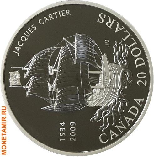 Канада 20 долларов 2009 Жак Картье Корабль.Арт.000958453913/60 (фото)