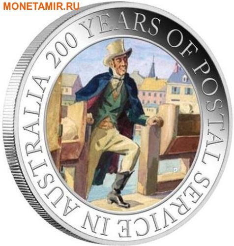 Австралия 1 доллар 2009 200 лет почтовой службе Австралии.Арт.000242253734/60 (фото)