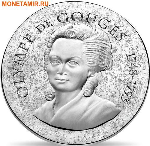 Франция 10 евро 2017 Олимпия де Гуж серия Женщины Франции.Арт.60 (фото)