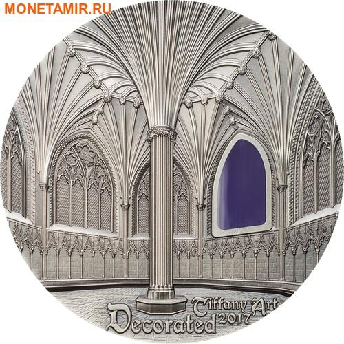 Палау 10 долларов 2017 Уэльский кафедральный собор (Wells Cathedral) серия Тиффани Арт.Арт.60 (фото)