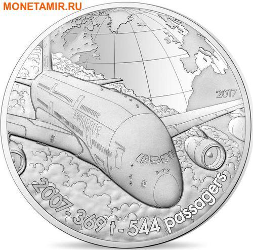 Франция 50 евро 2017 Аэробус А380 серия История Авиации.Арт.60 (фото)