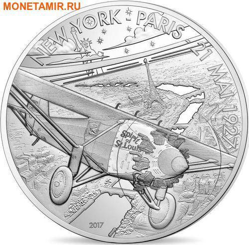 Франция 50 евро 2017 Дух Сент-Луиса серия История Авиации.Арт.60