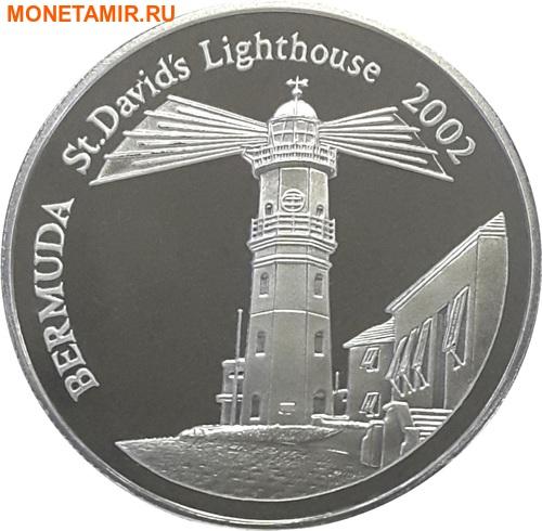 Бермуды 5 долларов 2002 Маяк Святого Давида.Арт.000393953890/60 (фото)