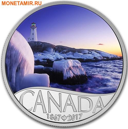Канада 10 долларов 2017 Маяк Пегги Коув - 150 лет Празднования Канады.Арт.60 (фото)