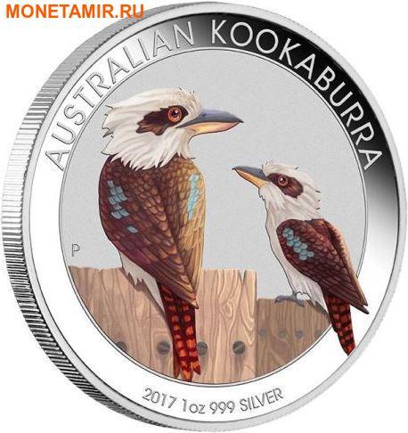 Австралия 1 доллар 2017 Кукабарра – Всемирная денежная ярмарка (World Money Fair Coin).Арт.60