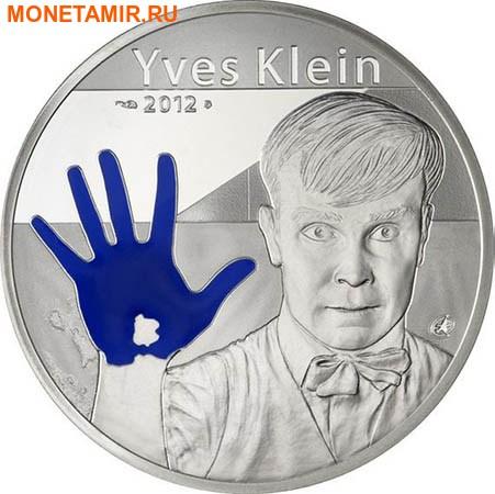 Франция 10 евро 2012 Ив Кляйн – Европейские художники.Арт.000328848544/60 (фото)