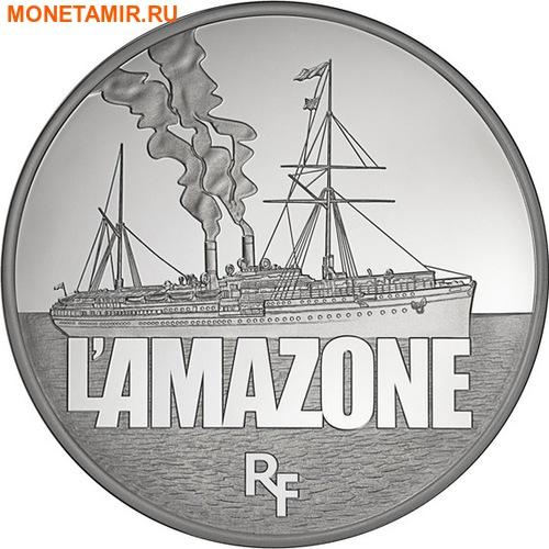 Франция 50 евро 2013 Корабль Амазонка (L'Amazone) серия Великие корабли Франции.Арт.001183344851/60 (фото)