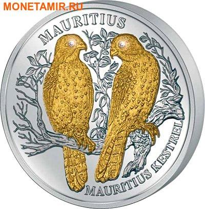 Либерия 10 долларов 2006 Маврикийская пустельга (Сокол) Mauritius Kestrel.Арт.000359153500/60 (фото)