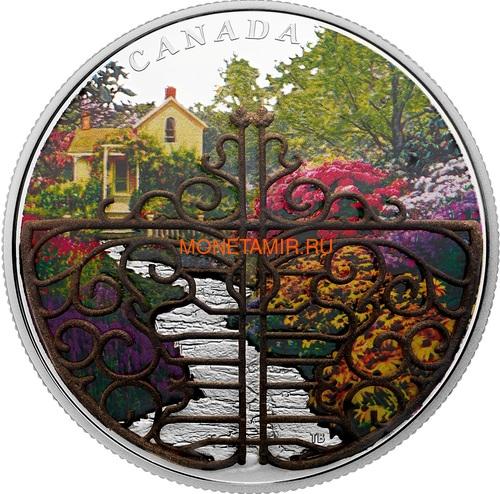 Канада 30 долларов 2017 Ворота в волшебный сад (Canada 30C$ 2017 Gate to Enchanted Garden).Арт.001012754487/60 (фото)