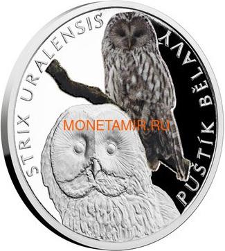 Ниуэ 1 доллар 2017 Уральская Сова – Под угрозой исчезновения (Niue 1 dollar 2017 Ural Owl Is endangered) Буклет.Арт.60 (фото)