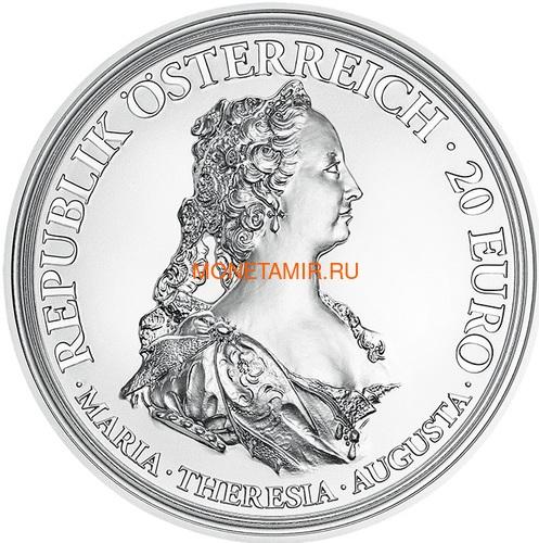 Австрия 20 евро 2017 Мария Терезия – Смелость и Решительность (Austria 20 Euro 2017 Maria Theresa Courage and Determination).Арт.60 (фото)