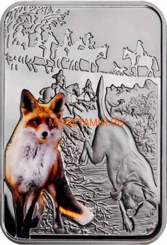 Ниуэ 1 доллар 2012 Охота на Лис – Искусство Охоты (Niue 1$ 2012 Fox Hunting Art of Hunting).Арт.60