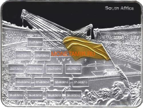 Либерия 50 долларов 2010 Футбол ФИФА 2010 Чемпионат Мира в Южной Африке Стадион Флаги (Liberia 50$ 2010 2010 FIFA World Cup in South Africa Stadium Flags).Арт.004164536538/60