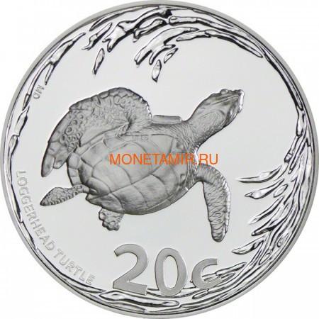 Южная Африка 20 центов 2013 Черепаха серия Охрана морских территорий (South Africa 20c 2013 Marine Protected Areas Turtle).Арт.000597344215/60 (фото)