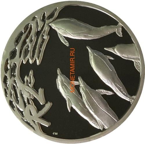 Южная Африка 2 ранда 2001 Дельфины серия Охрана морских территорий (South Africa 2R 2001 Marine Protected Areas Dolphins).Арт.000107441967/60 (фото)