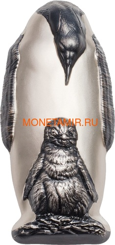 Острова Кука 20 долларов 2018 Императорский Пингвин (Cook Isl. 20$ 2018 Emperor Penguin).Арт.60