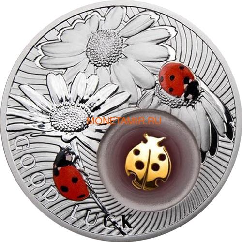 Ниуэ 2 доллара 2012 Божья Коровка Монеты на Удачу (Niue 2$ 2012 Lucky Coin Ladybug).Арт.000330349045/60 (фото)