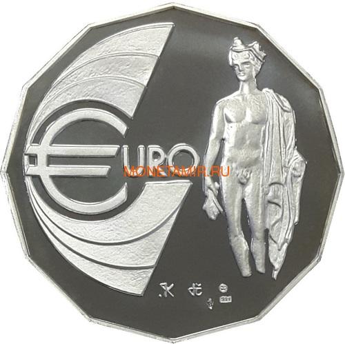 Словакия евро 2002 Меркурий Медаль (Slovakia Euro 2002 Mercury Silver Medal).Арт.000215043686/60 (фото)