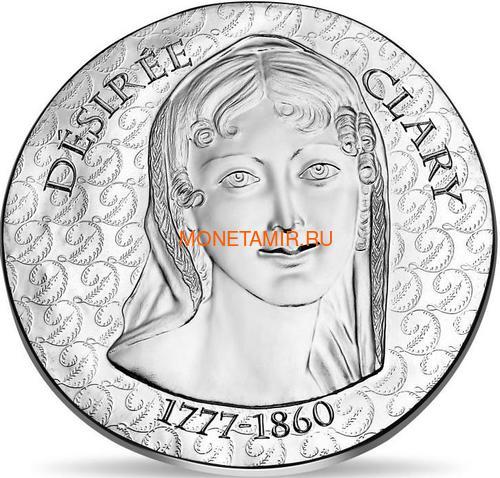 Франция 10 евро 2018 Дезире Клари серия Женщины Франции (France 10E 2018 Desiree Clary Charles XIV).Арт.60 (фото)