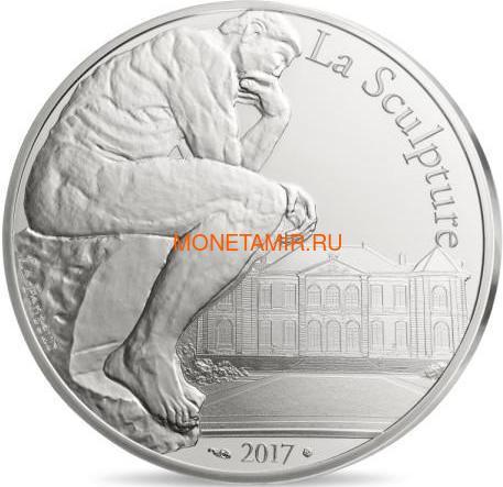 Франция 10 евро 2017 Огюст Роден (France 10E 2017 Arts Auguste Rodin Thinker).Арт.60