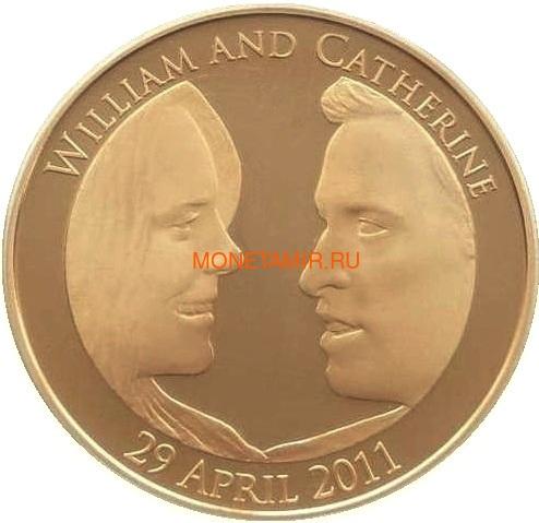 Великобритания 5 фунтов 2011 Королевская Свадьба Уильям и Кэтрин (GB 5£ 2011 Royal Wedding William Catherine).Арт.009995256064 (фото)