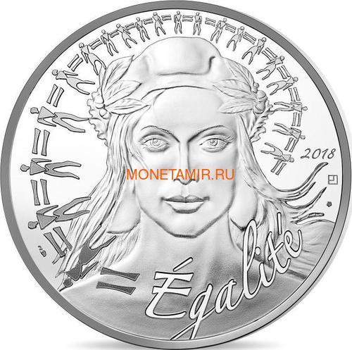Франция 20 евро 2018 Марианна Равенство (France 20 Euro 2018 Marianne Equality Proof).Арт.000209356132/63
