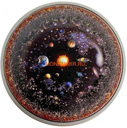 Палау 20 долларов 2019 Вселенная Космос Последний Рубеж (Palau 20$ 2019 Universe Space Final Frontier 3 Oz Silver Coin).Арт.65 (фото)