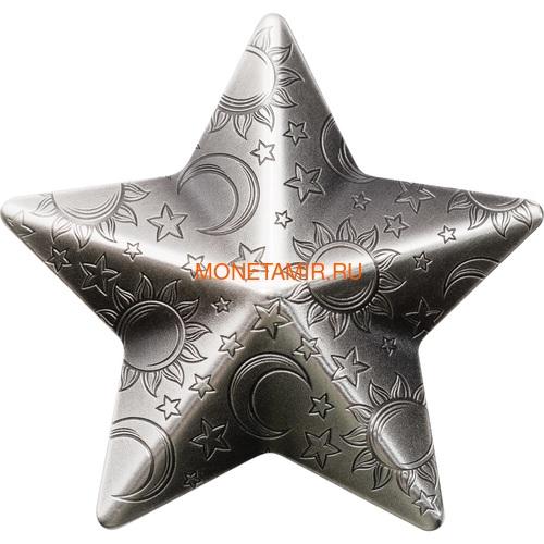 Палау 5 долларов 2018 Мерцающая Звезда (Palau 5$ 2018 Twinkling Star 1 oz Silver Coin).Арт.65 (фото)